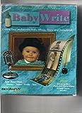 Baby Write : Create Your Multimedia Baby Album, Diary and Scrapbook