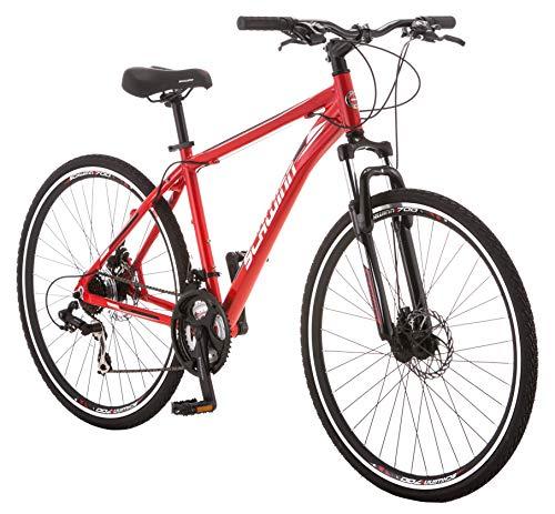 Schwinn GTX Comfort Hybrid Bike, GTX 2, 18-Inch Frame, Red (S2786B)