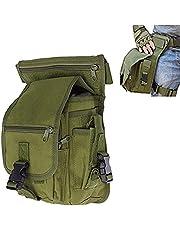 Fontic Borsa da Gamba, Militare Molle edc Tattico Marsupio/Borsa Multiuso/Waist Bag/CS Drop Leg Bag/Borsa Utility per Sport Trekking Escursioni Bicicletta Viaggio Militare Sportivo Corsa Outdoor