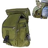 Fontic Borsa da Gamba, Militare MOLLE EDC Tattico Marsupio / Borsa Multiuso/ Waist Bag/CS Drop Leg...