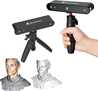 Revopoint POP 3D Scanner 0.3mm Accuracy 8 Fps Scan Speed Desktop and Handheld Fixed/Auto Scan Mode for Face and Body Scann...