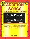 Audio Memory Addition Songs Workbook & CD Set