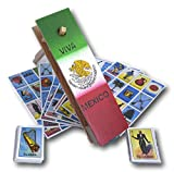 DEMIL Combo Traditional Matraca Toy Noise Maker for Games, Parties and Sports 10' with Autentica Loteria Mexicana Family Board Game - Set of Medium Boards and Deck of 54 Cards