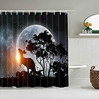 シャワーカーテンハロウィーンホラーゴースト防水バスカーテンフックに含まれるdBathroom装飾的なアイデアポリエステル生地アクセサリー