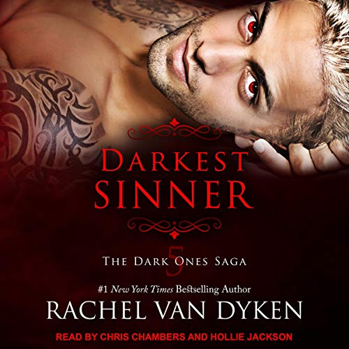 Darkest Sinner audiobook cover art