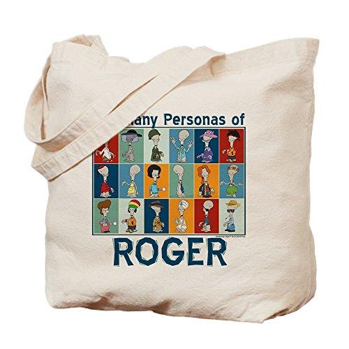 CafePress American Dad Roger Personas Tragetasche, canvas, khaki, m