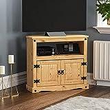 Amazon Brand - Movian Corona TV Cabinet, Solid Pine Wood, 70 x 77.5 x 40 cm