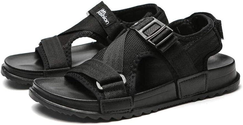 cfb6451cd Men's Sandals,2019 Summer New Comfort Beach Beach Beach shoes Lightweight  for Beach Walking shoes,Black,41 55aa25