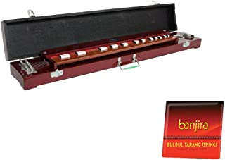 Keyboard Dulcimer Package Includes: Keyboard Dulcimer 36 Inch + Bulbul Tarang, 10 Steel Strings Full Replacement Set