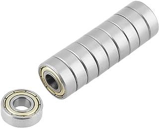 Kogellagers, 10 stuks 440C 696ZZ 6 x 15 x 5 mm roestvrijstalen kogellagers, bestand tegen hoge temperaturen, voor gereedsc...