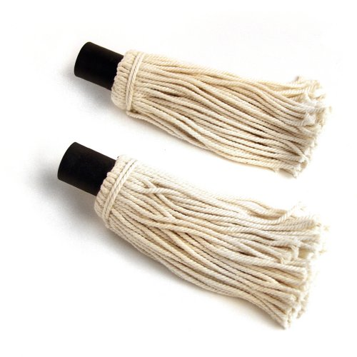 Steven Raichlen reservekoppen voor de saus-mop (set van 2) wit, 4,5 x 26 x 4,5 cm, SR8020