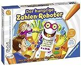 Ravensburger tiptoi Spiel 00706 Der hungrige Zahlenroboter, Lernspiel von Ravensburger ab 4 Jahren für 1-4 Spieler, spielerisch Formen und Rechnen lernen in 4 Schwierigkeitsstufen