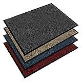 Schmutzfangmatte SKY - Testsieger - Fußmatte in 15 verschiedenen Größen - anthrazit-schwarz