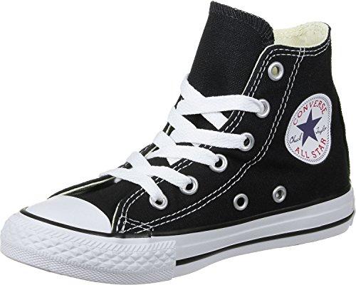 Converse Chuck Taylor All Star High Season, Zapatillas Niños Unisex niño, Monocromo Negro, 28.5 EU