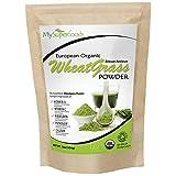 Organic Wheatgrass Powder (500g), MySuperFoods, Certified Organic, Source of Vitamin E, Calcium, Iron