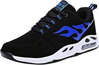 Waymine Men's Sneakers Outdoor Air Mesh Breathable Basketball Sport Shoes Mixed Colors Leisure Shoes
