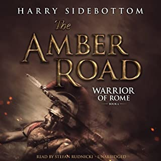 The Amber Road audiobook cover art