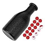 Weikeya Difícil De Billar Criba vibradora Botella, De Billar Piscina Criba vibradora De Billar Pelotas Calidad Caucho Material Criba vibradora Botella Caucho