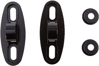 Qiilu 10mm Adaptateur R/étroviseur pour Moto Support de R/étroviseur Universel Support Guidon Mont Miroir Adaptateur Support Pince