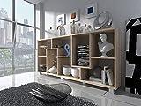 Home Innovation - Étagère Murale Rangement pour Livres, bibliothèque Salon -...