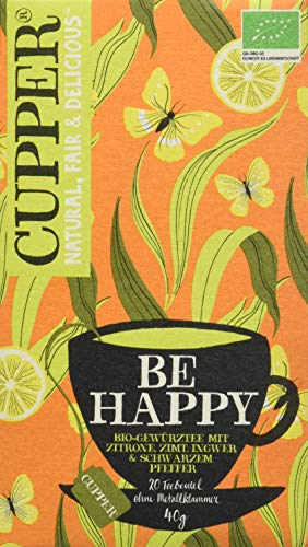 Cupper Tea Be Happy (40 g)