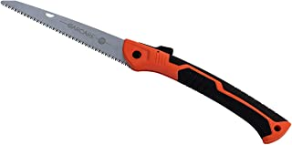 GARCARE Folding Landscaping Hand Saw, Best for Tree Pruning, Camping, Hunting, Toolbox. Rugged 10 Inch Blade