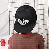 mlpnko Hip-Hop-Hüte für Kinder Baseballmützen für Jungen und Mädchen Zungen-Sonnenschutzhut...