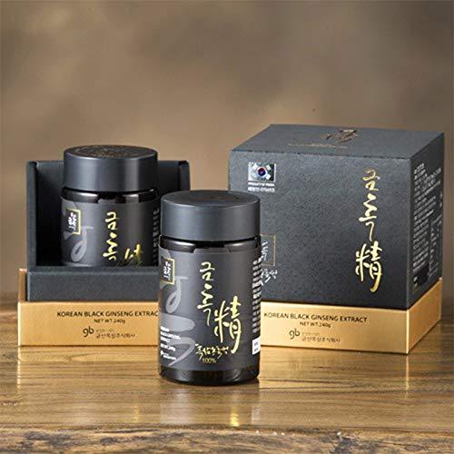 Ginseng nero coreano 240 g estratto concentrato 100{52ab1b58b98bf428ac567c71a7c64527b3f857b2d2958d1d05469173464831d8} naturale – trattamento di 8 mesi – alto contenuto di saponine 80 mg/g – Ginsernosidi Rg1, Rg3 > 6 mg/g. Rinforzato con ginsenossidi Rg3, Rg5 e Rk1.