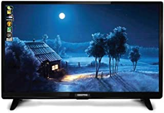 Geepas 32 Inch LED Standard TV Black - geepas 32 led