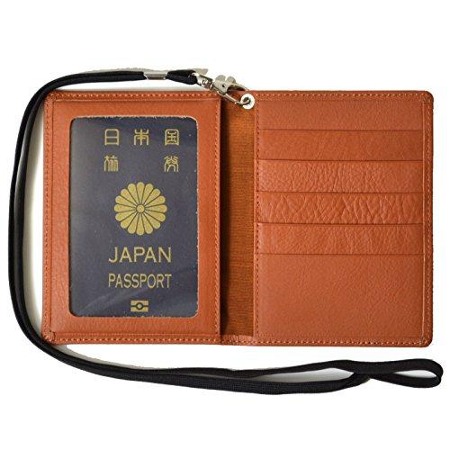 atelierCODEL パスポートケース 本革 レザー 日本製 パスポート ケース カバー (キャメルブラウン)