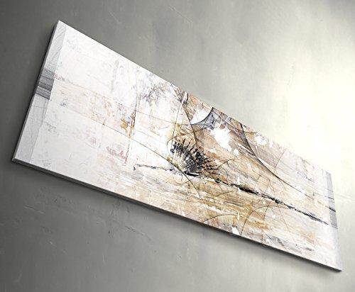 Paul Sinus Art She Drives Me Wild - Kunstdruck auf Leinwand gerahmt 150x50cm