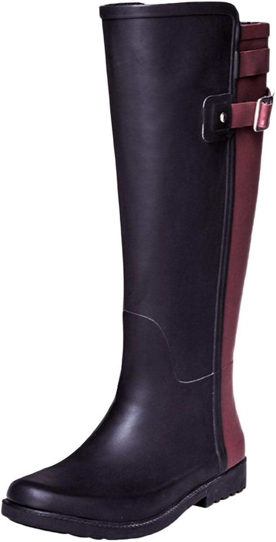 Insun Women's High Rain Boots Women Waterproof