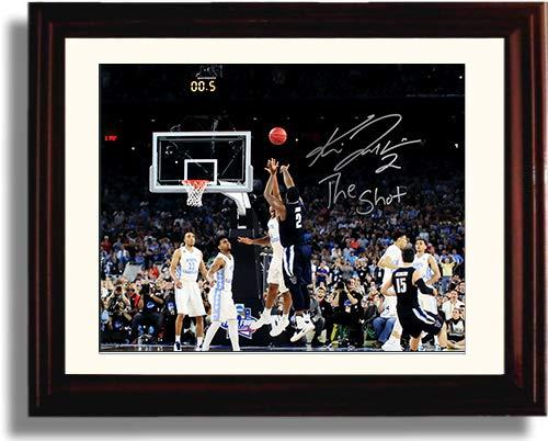 "Framed 2016 Villanova Kris Jenkins""The Shot"" NCAA Champs Autograph Replica Print"