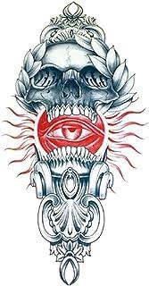 Qqinghan Waterdichte Tijdelijke Tattoo Sticker Crusader Wings Cross Flash Tattoos Lion Wolf Body Art Arm Fake Mouw Heren (...