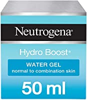 Neutrogena Face Moisturizer Water Gel, Hydro Boost, Normal to Combination Skin, 50 ml