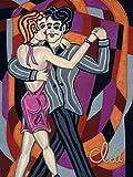 Jacqueline Ditt - Tango Argentino - universal Arts Galerie Studio - Grafik Druck Kunstdruck nach Gemälde