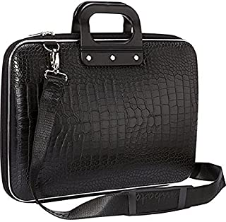 """Home Buy Faux Leather Black 15.6"""" Laptop Briefcase"""
