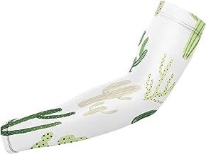 BJAMAJ Cactus In Desert UV Bescherming Koeling Arm Mouwen Arm Cover Zon Bescherming Voor Mannen & Vrouwen Jeugd Prestaties...