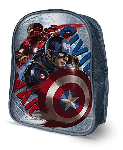Star Marvel Avengers Backpacks Fine Shape- Small with Printed Image, Dimension- 22.5 x 10...