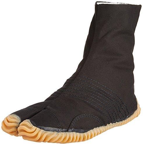 Marugo Tabi Boots Ninja Shoes Jikatabi (Outdoor tabi) MATSURI Jog 6 Size: 29.0 cm (US Size 11), Color: Black