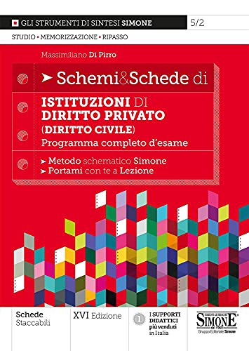 Schemi & schede di istituzioni di diritto privato (diritto civile). Programma completo d'esame