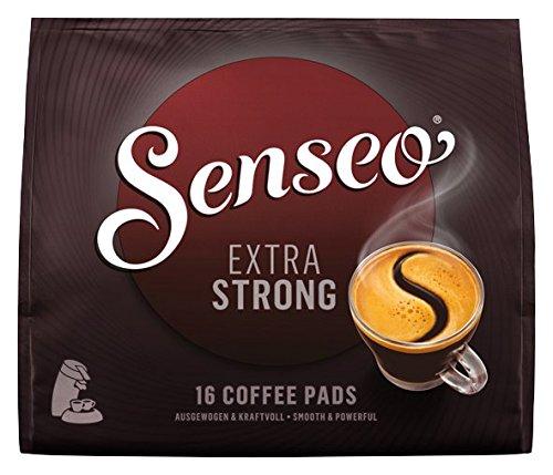 Senseo Pads Extra Strong, 16 Kaffeepads für Getränke