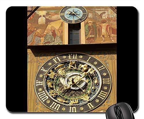 Mauspads - astronomische uhr uhrzeit uhrzeit datum datum tag 1