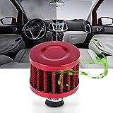 Kit de filtro de admisión de aire Filtro de aire para compresor de aire Filtro de admisión Silenciador(red)