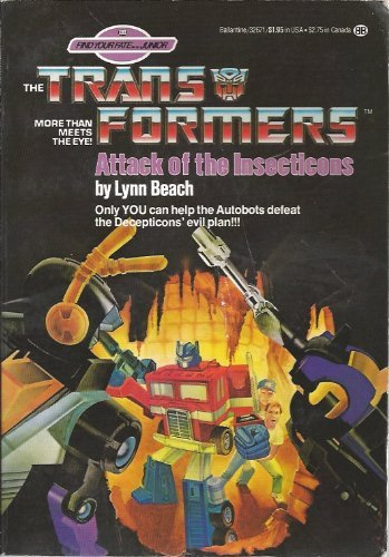 Attack of the Insecticons (Find Your Fate Junior - Transformers)
