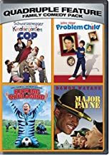 Family Comedy Pack Quadruple Feature: (Kindergarten Cop / Problem Child / Kicking and Screaming / Major Payne)