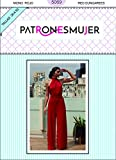 Patrones de costura. Mono rojo de mujer con tutorial en vídeo (youtube) para hacerlo tu misma. Tallas incluidas de la 38 a la 50.