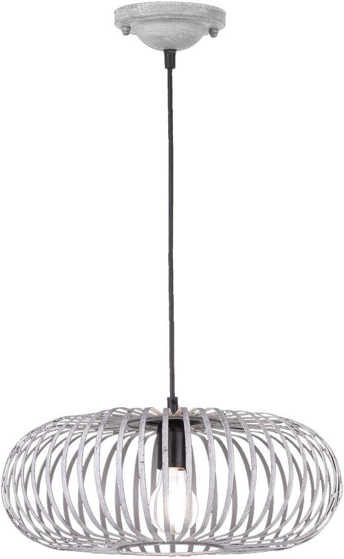 Hnge Leuchte Pendel Schlafzimmer Lampe Metall Kfig grau Decken Strahler Trio Leuchten 306900161
