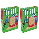 Bird Supplies Trill Nutrivit Complete Budgie Food With Vitamins 500g (2 Pack)
