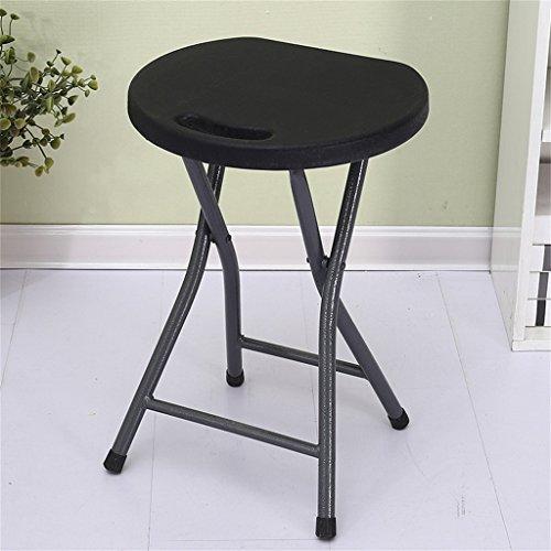 Small stool Tabouret Pliant en Plastique, Tabouret Haut Adulte, Chaise de Petit Banc, Mode épaississement Simple et Portable (Couleur : 10#.)